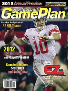 GamePlan Magazine - Pro Football  / NFL - 2012