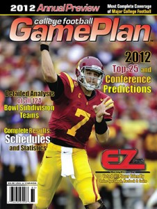 GamePlan Magazines Annual College Football - 2012